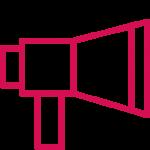 ikon som symboliserar Friends opinionsarbete
