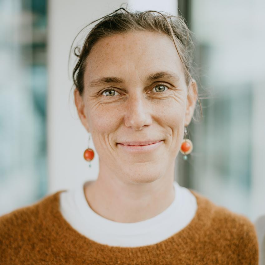 bild på Åsa Gustafsson som är processledare på Friends