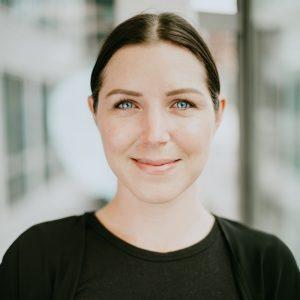 bild på Li Åsebring som är processledare på Friends