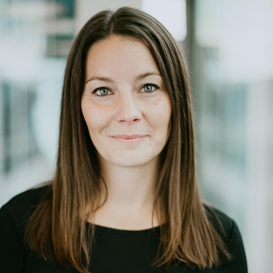 bild på Maria Persson som är processledare på Friends