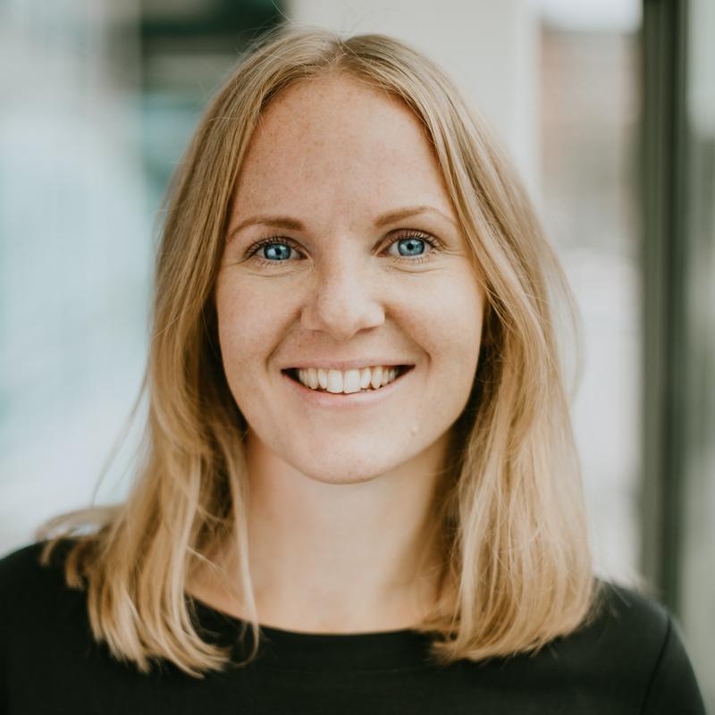 Bild på Marie Ahlen som är digital utvecklingssledare på Friends