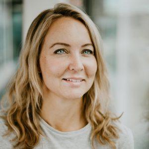 bild på Pernilla Tilander som är projektledarepå Friends