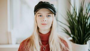 porträtt av Jennifer ottestig som är medlem i friends barn- och ungdomsråd