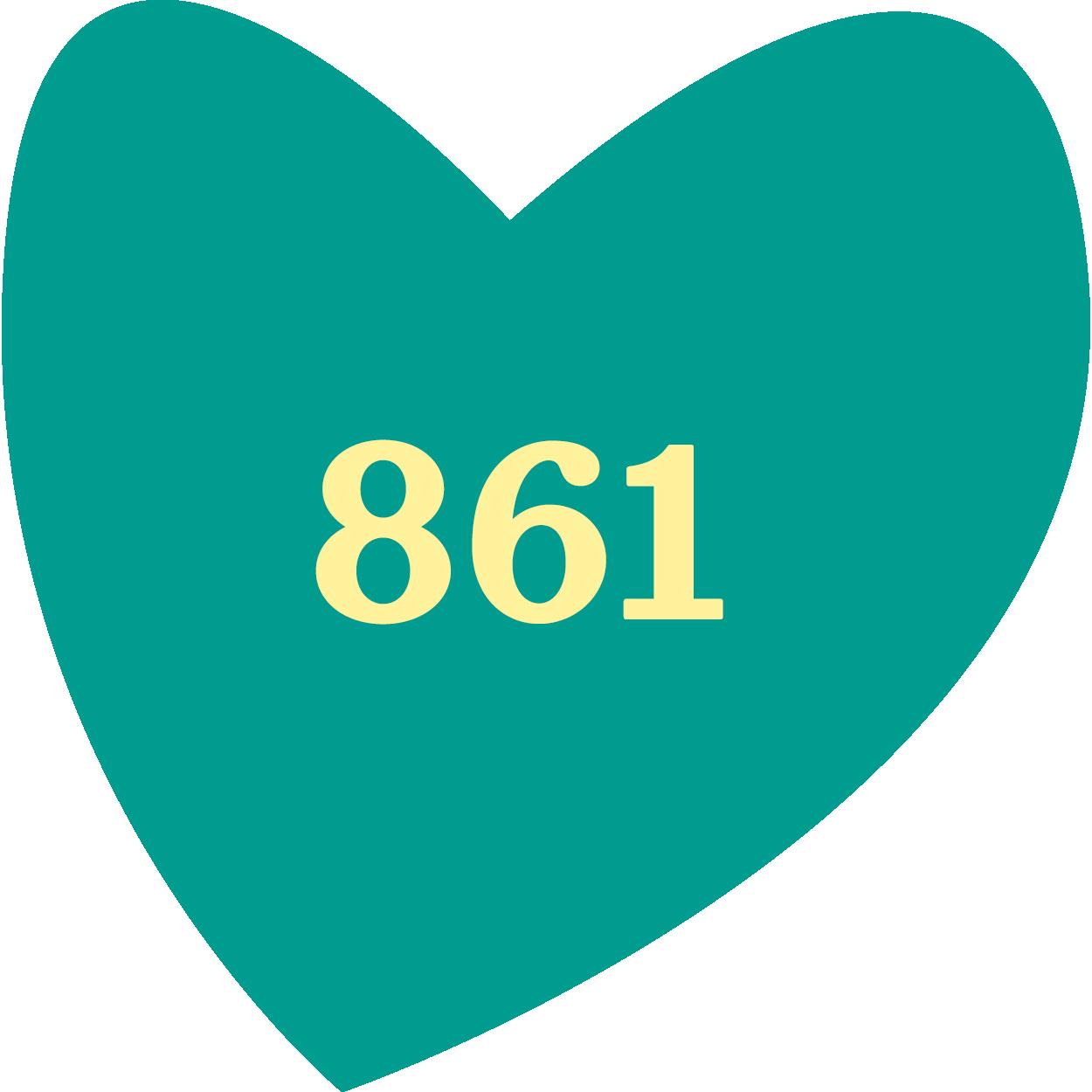861 aktiva barn/ungdomar i idrottsenkäter