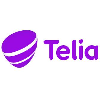 logotyp för Friends huvudpartner Telia