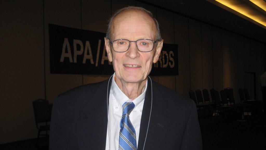 Forskaren Dan Olweus