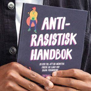 framsidan av boken anti-rasistisk handbok