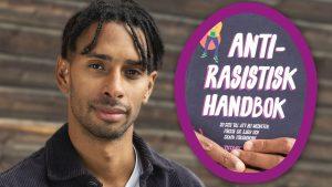 Patrick Konde som skrivit anti-rasistisk handbok